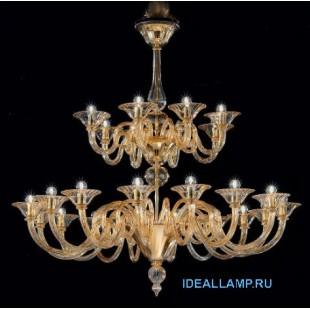 Люстра подвесная 1382/16+8 D D.A Sylcom Италия
