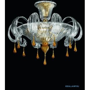 Итальянская люстра потолочная  1386/60 D AS Sylcom Италия