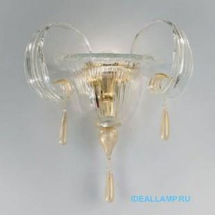 Настенный светильник 1386/A1 D CR.ORO Sylcom Италия