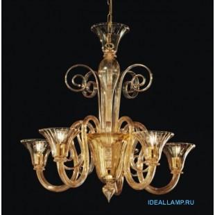Итальянский подвесной светильник  1388/5 D D.A Sylcom Италия