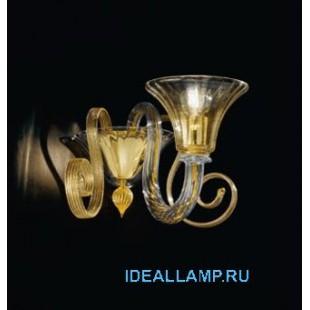 Настенные светильники 1388/A1 D CR.ORO Sylcom Италия