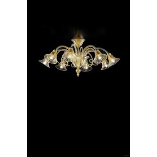Люстры (Потолочные) 1421_8 D CR.ORO Sylcom Италия