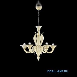 Итальянские подвесные светильники  Sylcom 1430/5 K AV.ORO Sylcom Италия