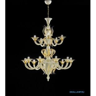 Итальянские подвесные светильники  1431/10+5 D AV.ORO Sylcom Италия