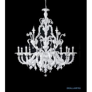 Люстры (Подвесные) 1471_12 PA BL.CR Sylcom Италия