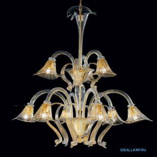 Люстры (Каскадные) 1479_6+3 D CR.ORO Sylcom Италия
