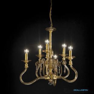 Люстры (Подвесные) 1698_3+3 D FU Sylcom Италия