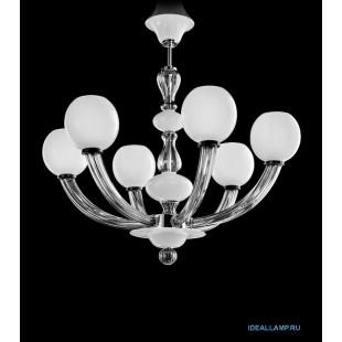 Люстры (Подвесные) 1537_6 K BLCR.CR Sylcom Италия