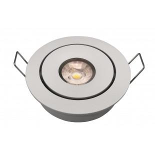 Точечные светильники (Светодиодные) L4487 WH VEGA Италия