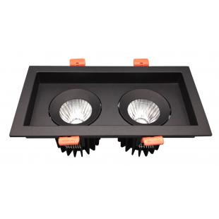 Точечные светильники (Светодиодные) L2412 BL VEGA Италия
