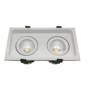 Точечные светильники (Светодиодные) L2412 WH VEGA Италия